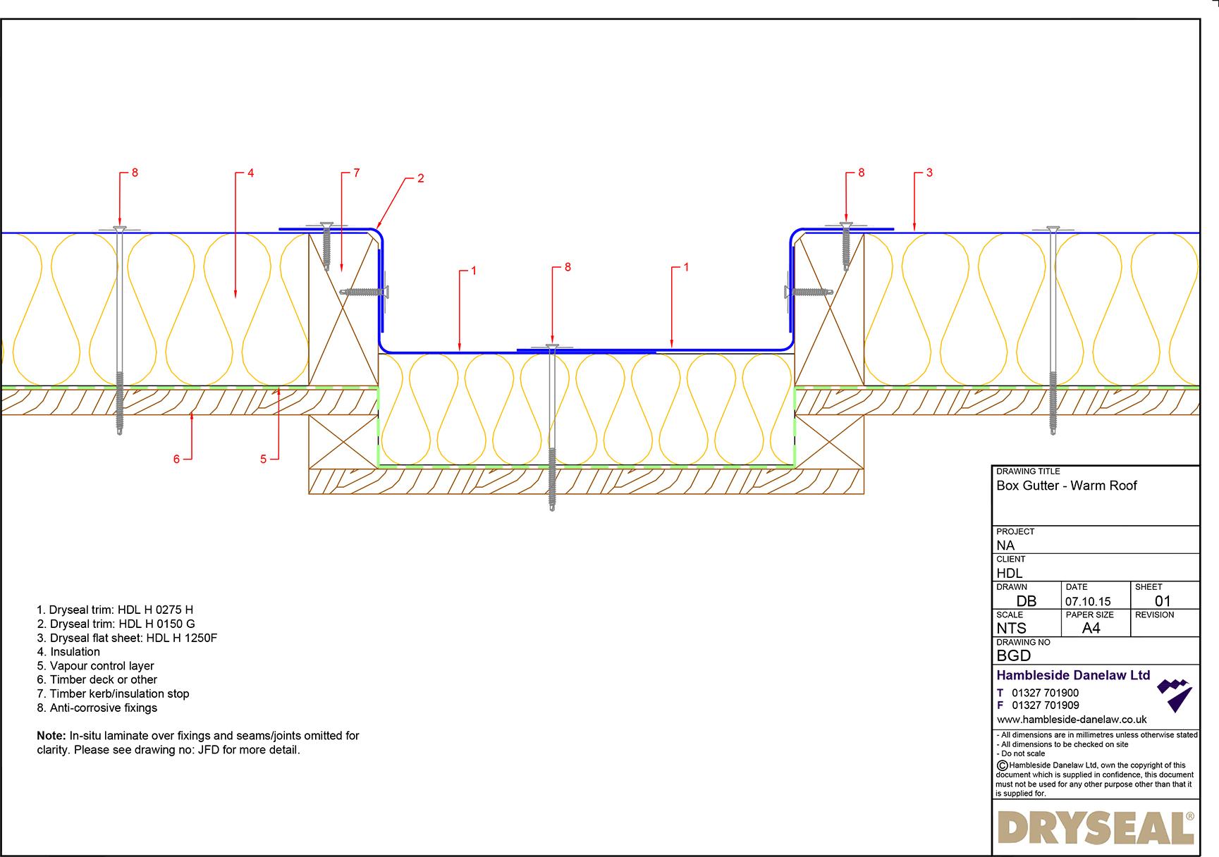 Box Gutter Detail Pdf Downloads Hambleside Danelaw