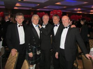 (L-R) Ian Weakford, Sales Director, Mike Lemmon, Sales Manager - Scotland, Chris Dalgarno, Divisional Director, Andy Fell, Dryseal Manager and Paul Hanratty, Business Development Manager