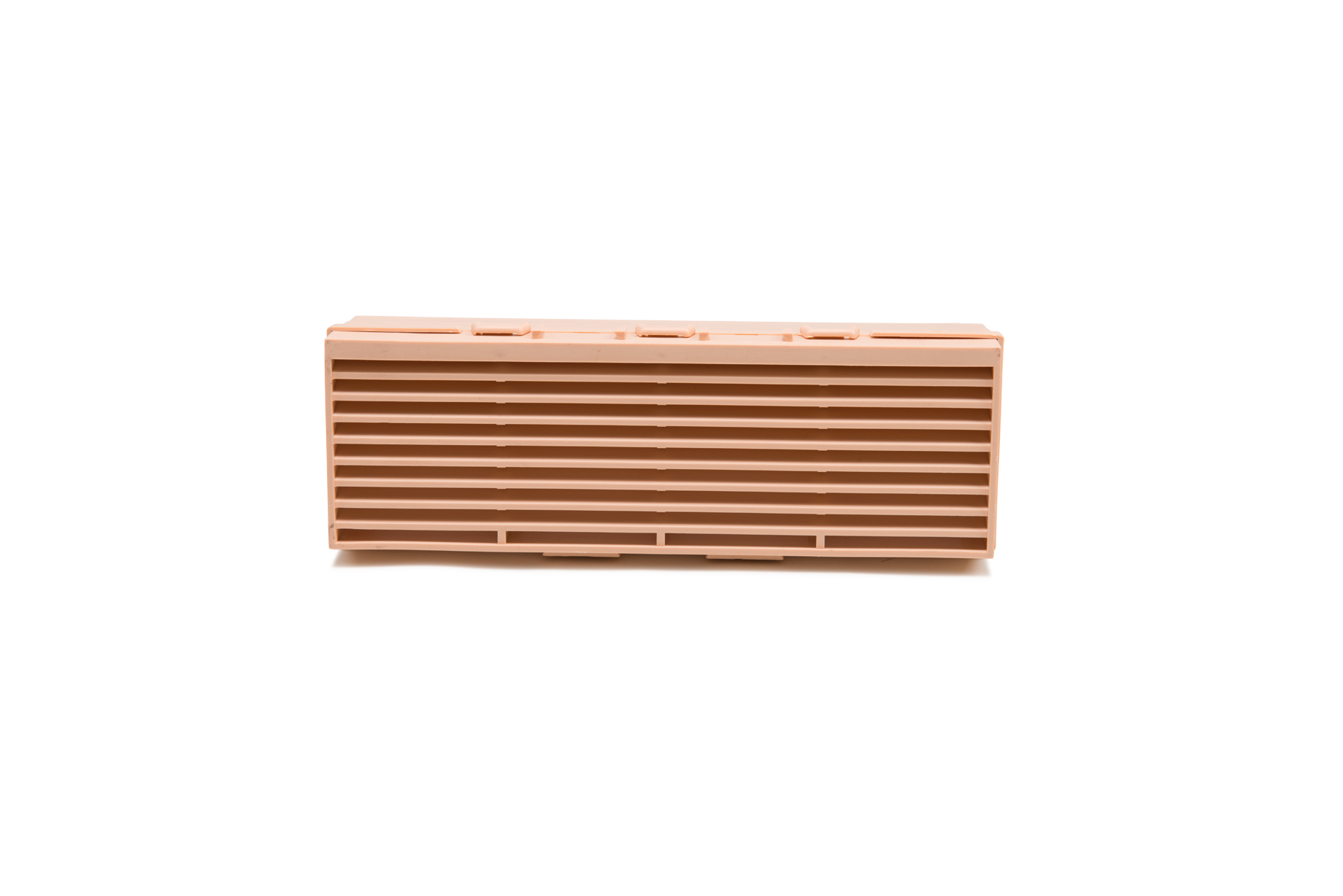 Stand alone photo of the buff combination brick vent