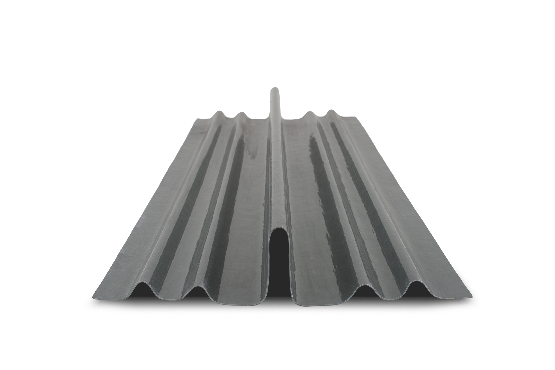 Stand alone photo of the GRP Dry Fix Valley Trough for Low Profiled and Plain Tiles