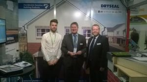 Dominic Preece, Marketing Executive, Andy Fell, Dryseal Manager and John Godley, Technical Manager