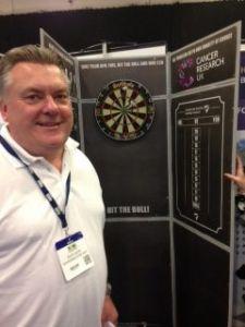Dave Dixon hits the bullseye!