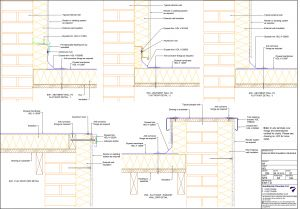External Wall Insulation Abutment Drawing