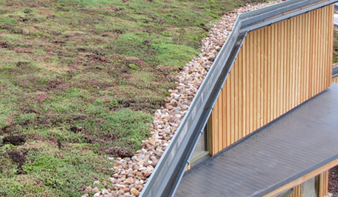 Dryseal Used on a Green Roof