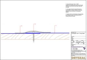 Dryseal Drawing Overlapped Joint Fixing