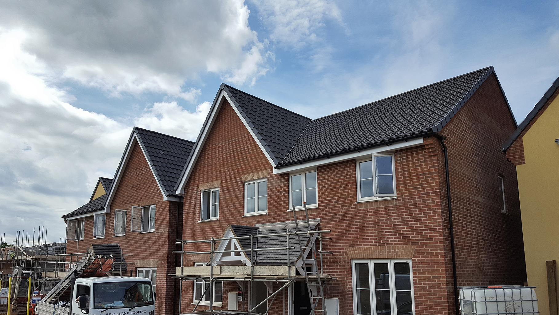 Breckland Roofing used a mixture of Hambleside Danelaw Pitched Roofing products