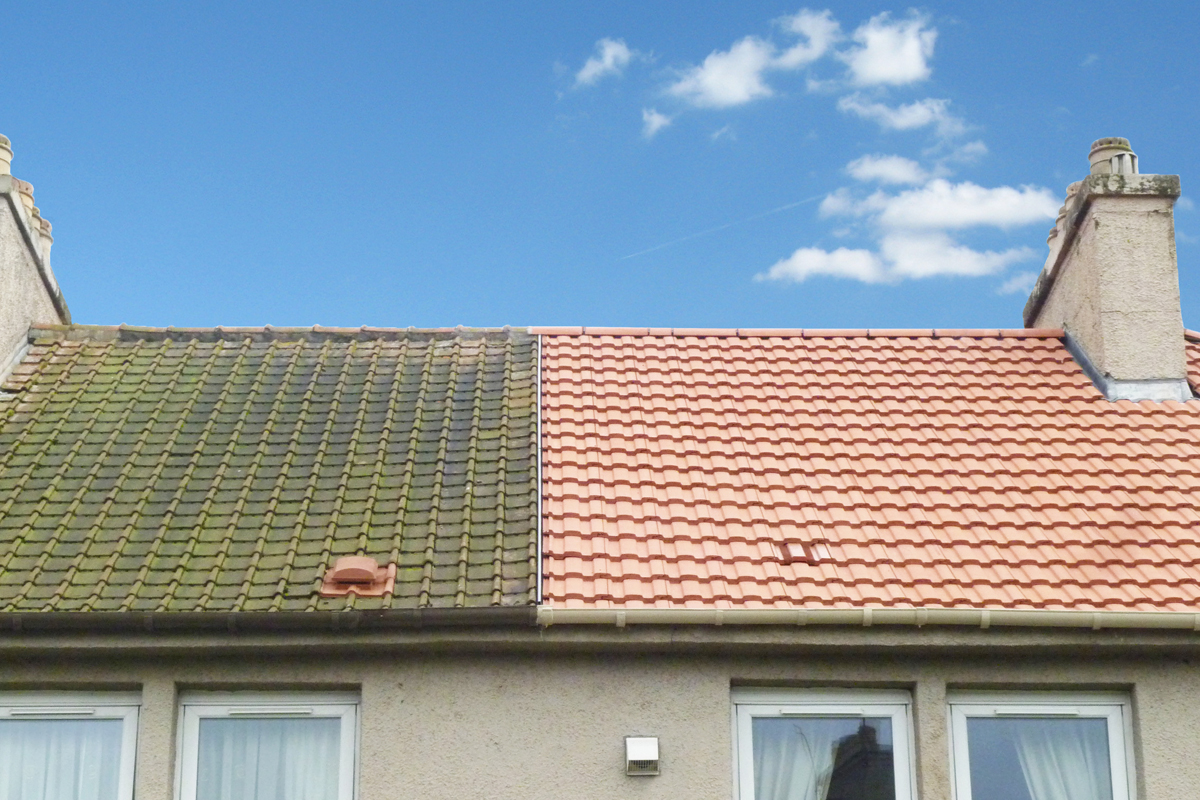 Danelaw Dry Fix Bonding Gutter & TV15-7_New roof comparison on domesitc home