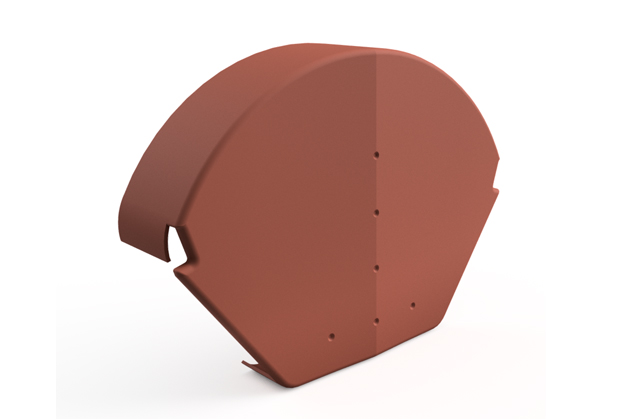 Danelaw IPTDV Angle Ridge Cap for Dry Verge System