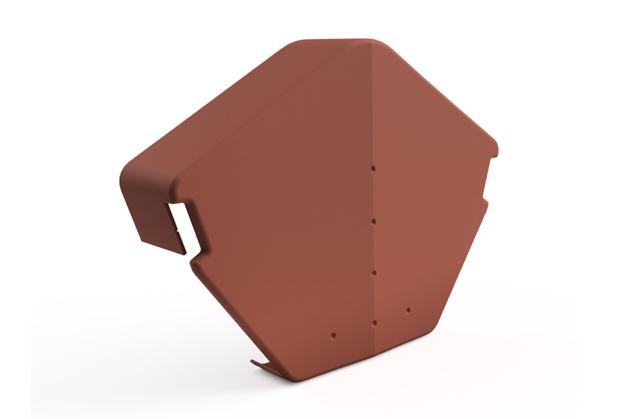 Danelaw IPTDV Half Round Edge Cap for Dry Verge System