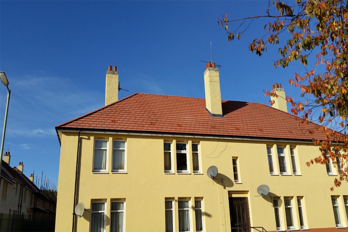 Terracotta 15-1 Tile Vents - Housing development
