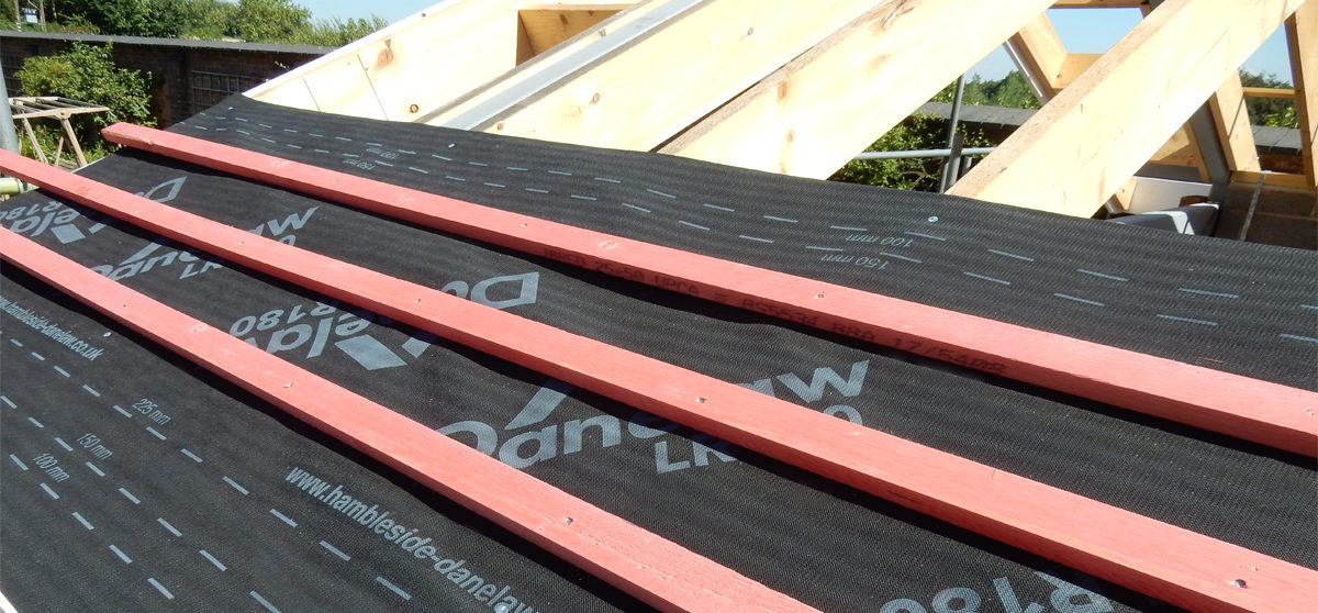 Danelaw Roofing Underlay DLR 180_House Extension